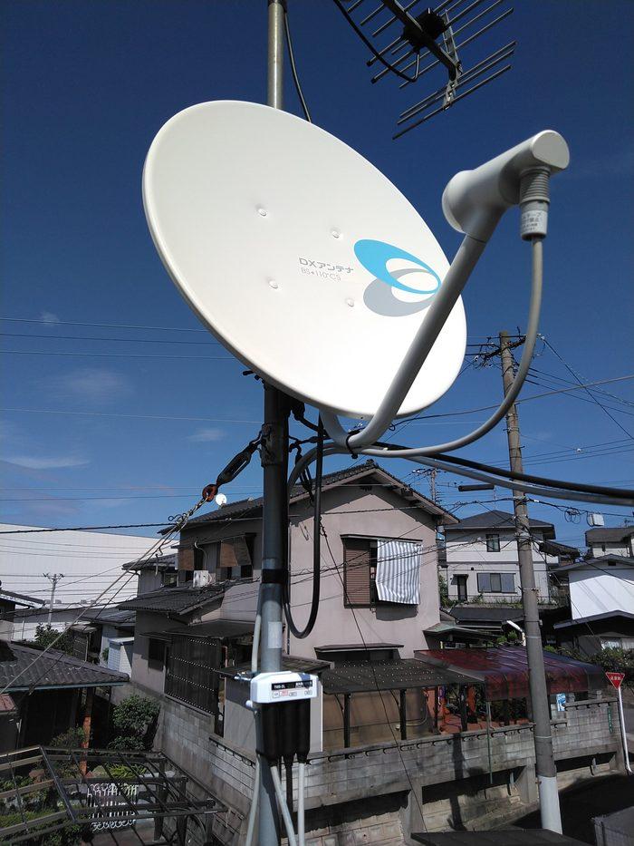 小倉南区 BSアンテナ取替工事のサムネイル