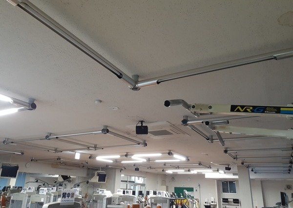 山口県 某施設 非常照明内蔵器具取替工事