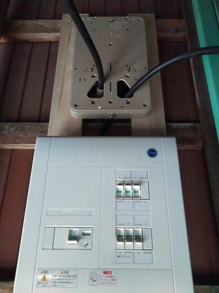 北九州市 電力メーター引込工事のサムネイル