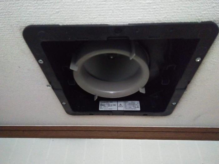 小倉北区 K様邸 換気扇交換工事のサムネイル
