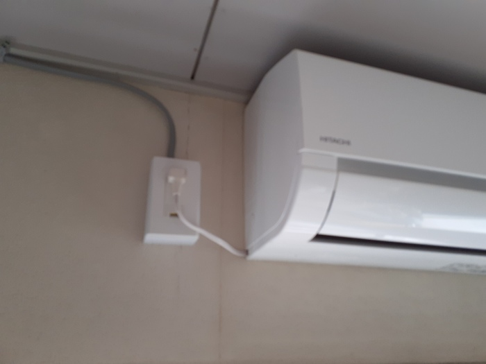小倉南区M様邸 エアコン+専用回路工事のサムネイル